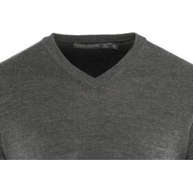 Icebreaker Shearer V-Neck Sweater Herren charcoal heather